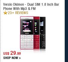 Versio Okimon - Dual SIM 1.8 Inch Bar Phone