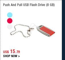 Push And Pull USB Flash Drive (8 GB)