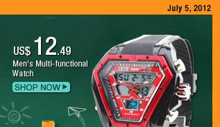 Men's Multi-functional Watch
