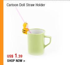 Cartoon Doll Straw Holder