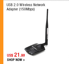 USB 2.0 Wireless Network Adapter (150Mbps)