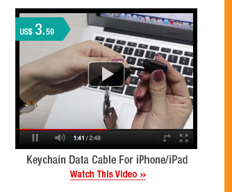 Keychain Data Cable For iPhone/iPad