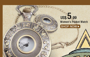 Women's Pocket Watch