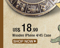 Wooden iPhone 4/4S Case