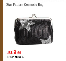 Star Pattern Cosmetic Bag