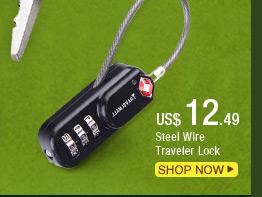 Steel Wire Traveler Lock