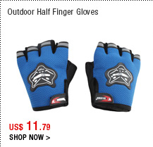 Outdoor Half Finger Gloves