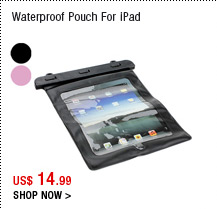 Waterproof Pouch For iPad