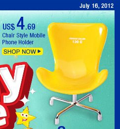 Chair Style Mobile Phone Holder