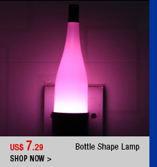 Bottle Shaped Lamp