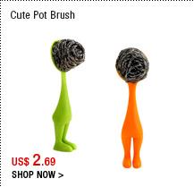 Cute Pot Brush