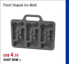 Pistol Shaped Ice Mold