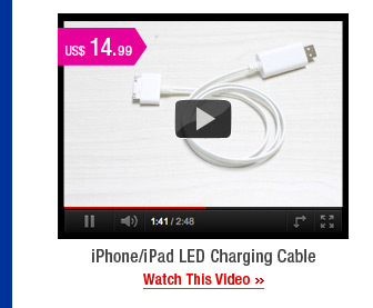 iPhone/iPad LED Charging Cable