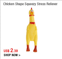 Chicken shape squeezy stress reliever