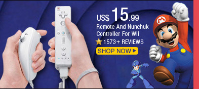 Remote And Nunchuk Controller For Wii