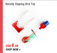 Novelty Dipping Bird Toy