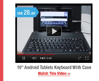 "10"" Android Tablets Keyboard With Case"