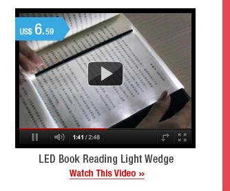 LED Book Reading Light Wedge