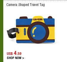 Camera Shaped Travel Tag