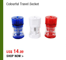 Colourful Travel Socket