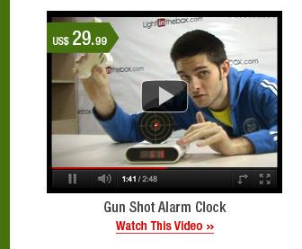 Gun Shot Alarm Clock