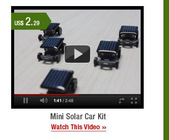 Mini Solar Car Kit
