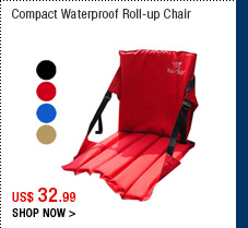 Compact Roll-up Portable Chair