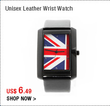 Unisex Leather Wrist Watch