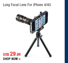 Long Focal Lens For iPhone 4/4S