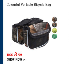 Colourful Portable Bicycle Bag