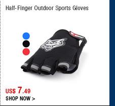 Half-Finger Outdoor Sports Gloves