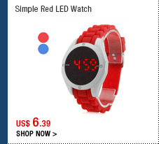 Simple Red LED Watch