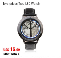 Mysterious Tree LED Watch