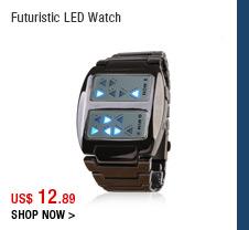 Futuristic LED Watch