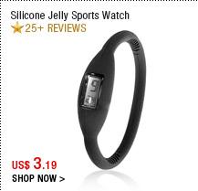 Silicone Jelly Sports Watch
