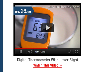 Digital Thermometer With Laser Sight