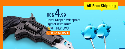 Pistol Shaped Windproof Lighter With Knife