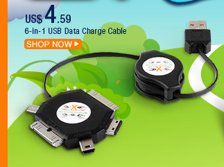 6-in-1 USB Data Charge Cable