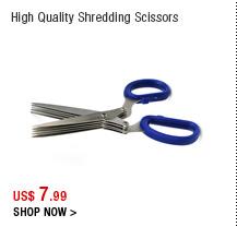 High Quality Shredding Scissors
