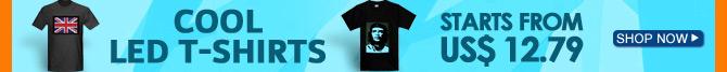 Cool LED T-shirts