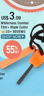 Wilderness Survival Flint + Blade Cutter
