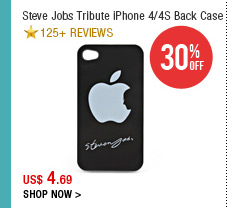 Steve Jobs Tribute iPhone 4/4S Back Case