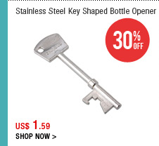 Stainless Steel Key Shaped Bottle Opener
