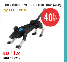 Transformer Style USB Flash Drive (4GB)