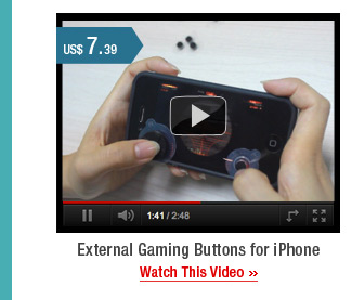External Gaming Buttons for iPhone