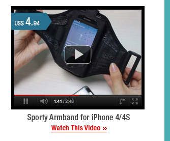 Sporty Armband for iPhone 4/4S