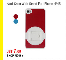 Hard Case With Stand For iPhone 4/4S