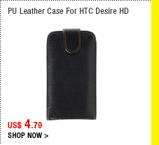 PU Leather Case for HTC Desire HD