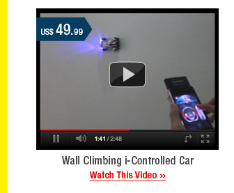 Wall Climbing i-Controlled Car