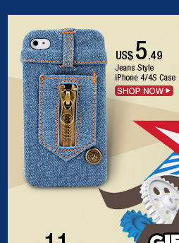 Jeans Style iPhone 4/4S Case